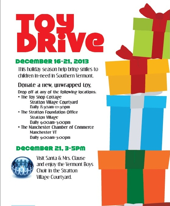 Stratton Toy Drive