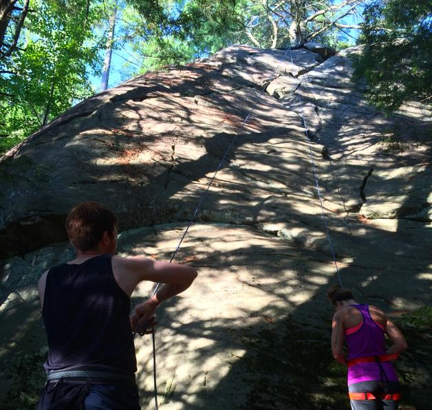 lauren ted climbing