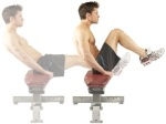 seated ab crunch