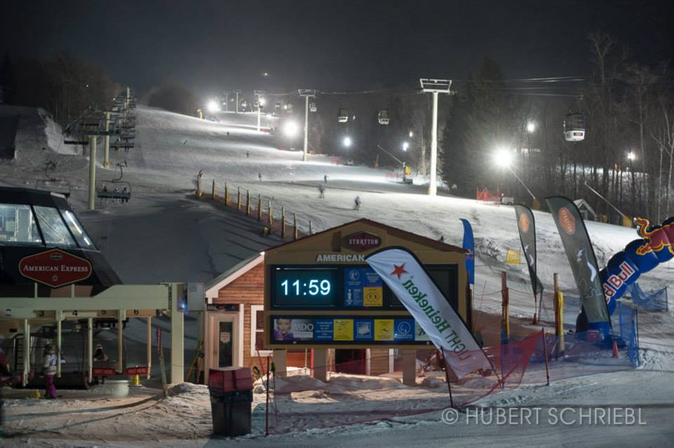 24 Hours of Stratton Night Skiing