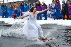 There were some amazing costumes at this year's pond skim.