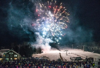 New years Eve at Stratton.