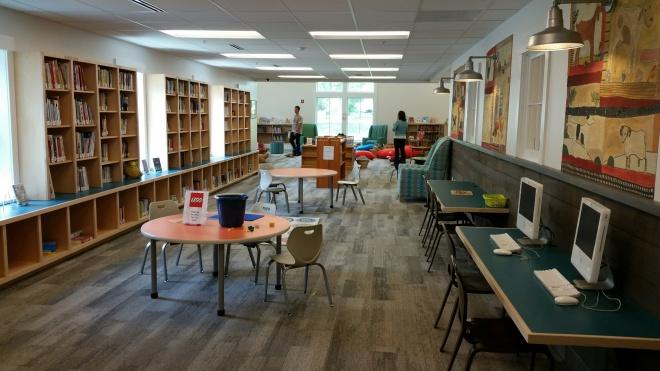 Manchester Library - childrens barn