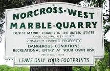 Dorset quarry Vermont