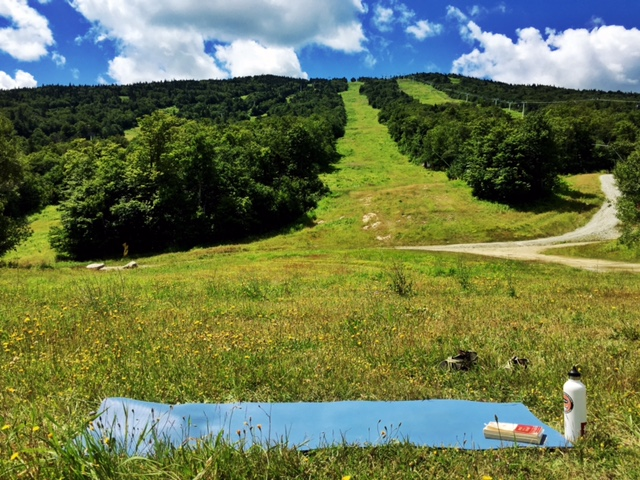 stratton hike yoga