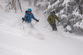 Stratton Ski Couple