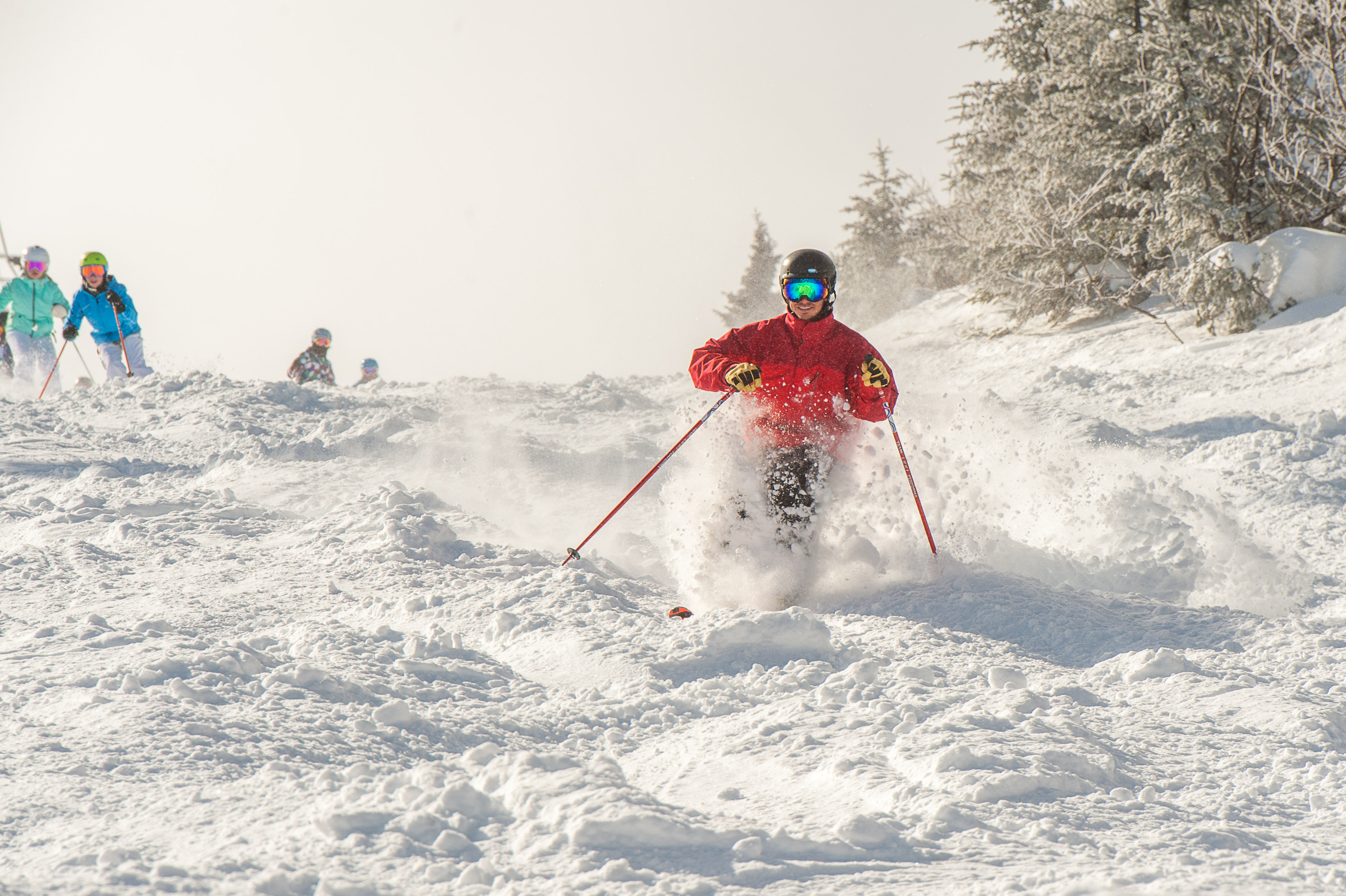 Stratton Powder Day