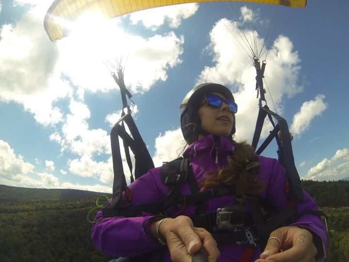 Paragliding at Stratton Mountain Resort